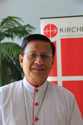 Archbishop Charles Bo. of the diocese of Yangon