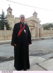 Yousif Mirkis, the Chaldean Archbishop of Kirkuk, in an interview with journalist Oliver Maksan for Aid to the Church in Need