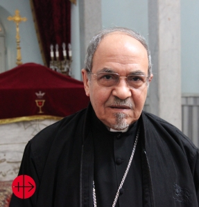 Egypt, Sohag, 17.02.2015Bishop Youssef Aboul-Kheir (Jusef Abul-