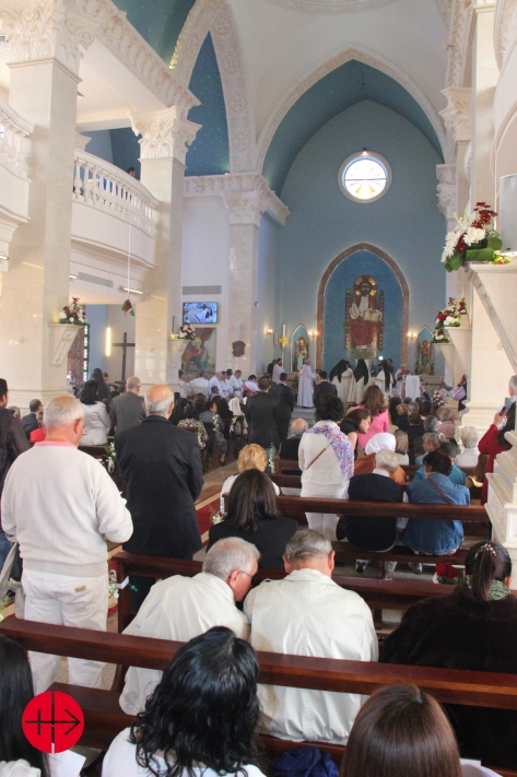 On february 15th 2015 the first Catholic church on Sinai peninsu