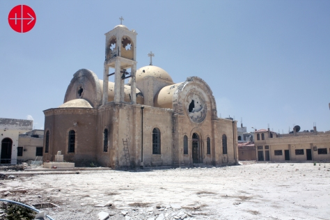 SYRIA / HOMS-MLC 15/00038Help for Quseir (church, catechism cen