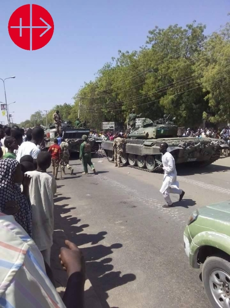 Nigeria: Military forces entering the north-east to help repel B