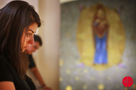 May 16 , 2012-Damascus , Syria : Funeral and prayer in the Churc
